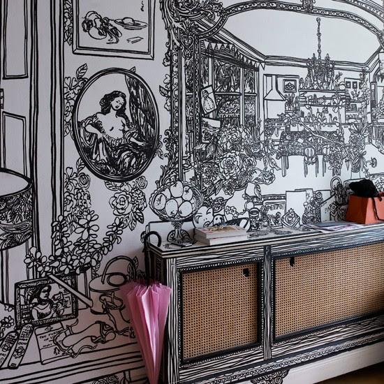 Make a statement | 10 wallpaper ideas for hallways | housetohome.