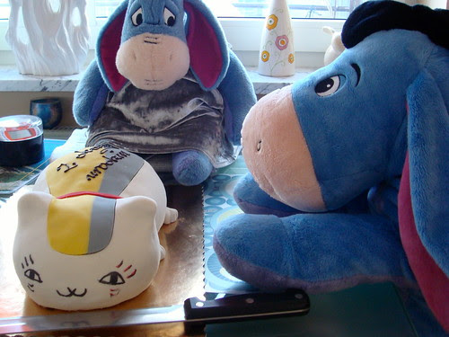 Nyanko sensei cake.