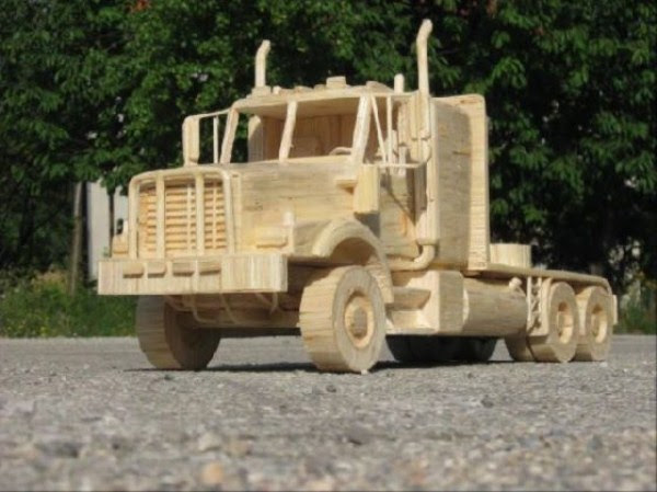 536 Impressive Matchsticks Vehicles (20 photos)