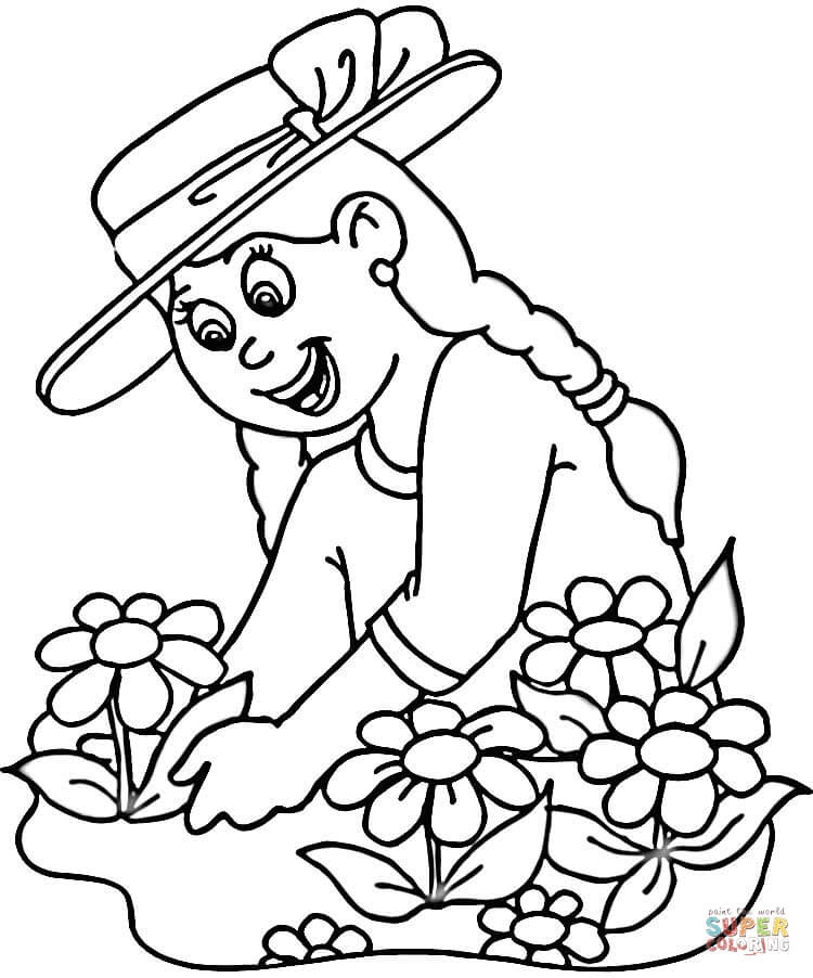 87 Flower Growing Coloring Pages For Free