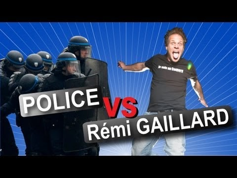 (Vidéo) On peut regarder Remi Gaillard contre la police