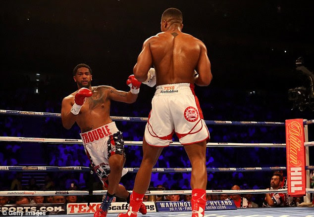 Breazeale's legs turn to jelly after an upright, authoritative Joshua has delivered his latest hammer blow
