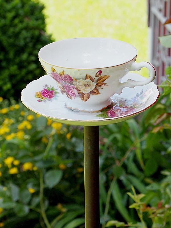 çay fincanı birdfeeder yapmak kolay