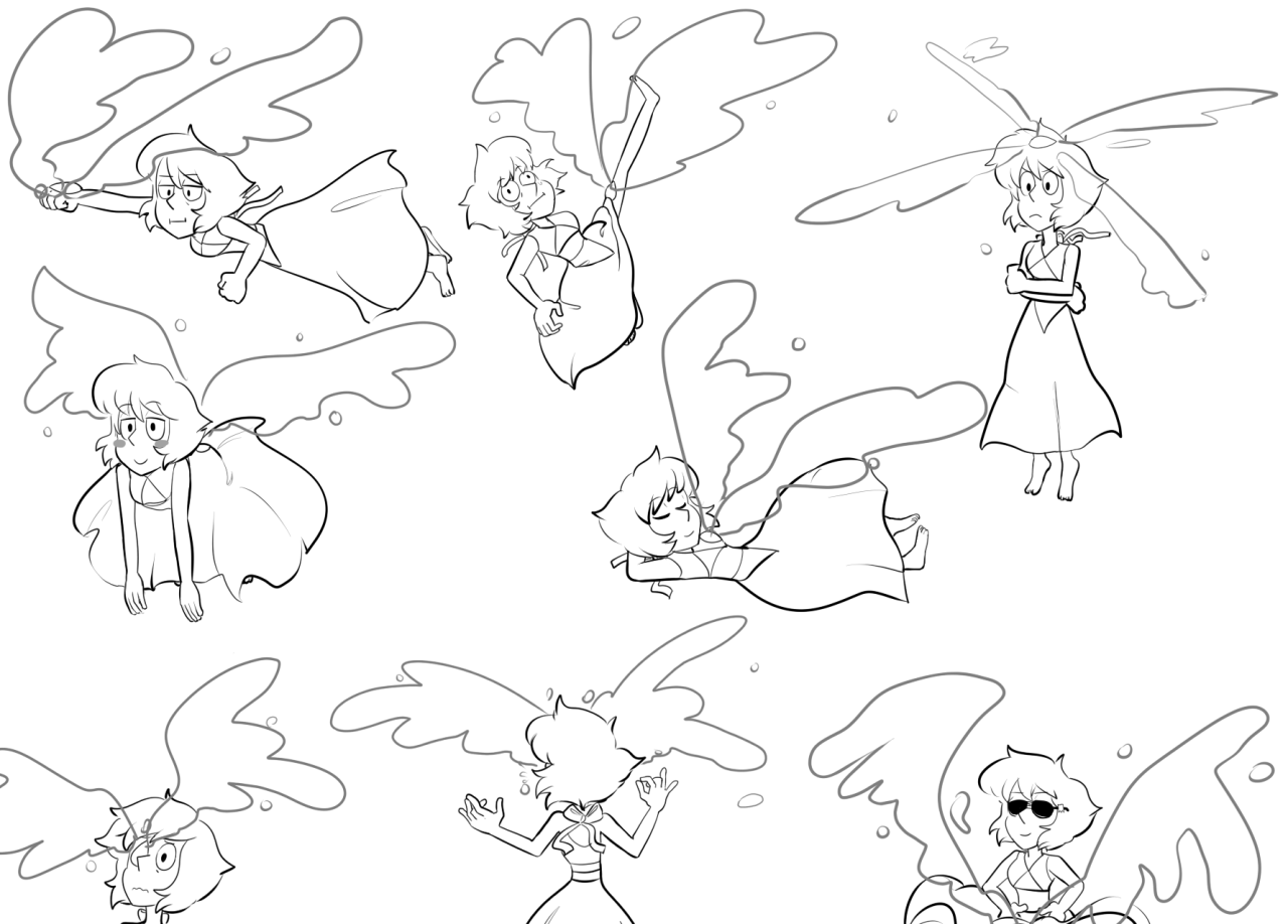 Flying Lapis Lazuli [request]