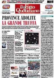 Province abolite, la grande truffa