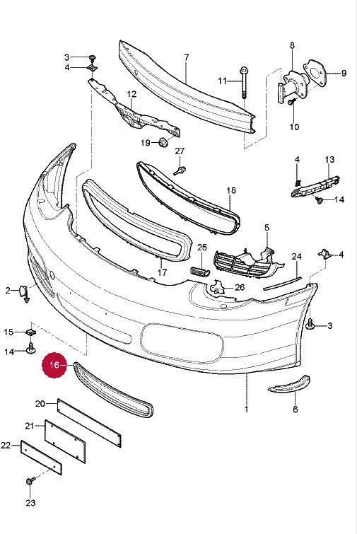 2004 Mini Cooper Parts Diagram