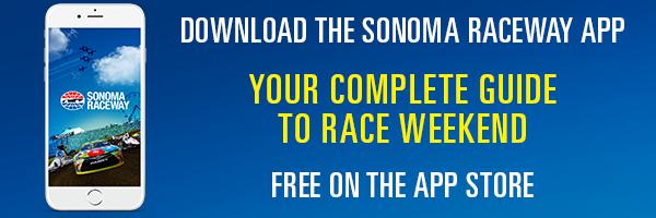Download the Sonoma Raceway App (#nascar)