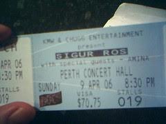 Sigur Ros Tickets