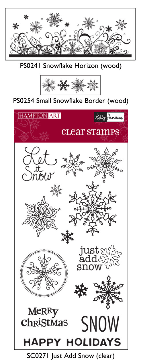 Stamps-snowcard