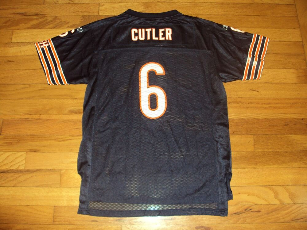JAY CUTLER CHICAGO BEARS  6 OFFICIAL NFL REEBOK JERSEY SIZE YOUTH XL 1820  eBay