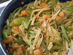 Thai Peanut and Vegetable Noodles