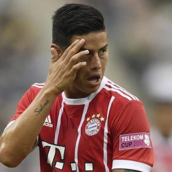 James Rodriguez, Jugador del Bayern Múnich