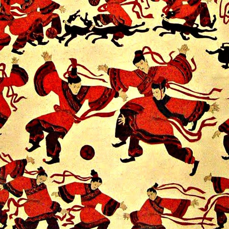 China fue probablemente la primera civilización en jugar una versión organizada del fútbol bajo la dinastía Han. (Imagen: La Gran Época)