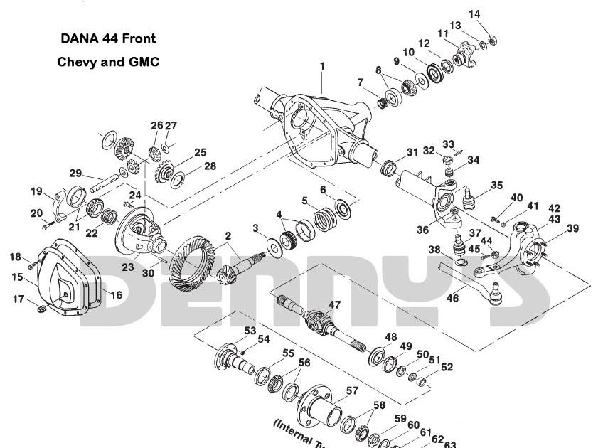 2004 dodge ram 1500 front differential diagram
