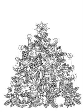 weihnachten ausmalbilder erwachsene - malvorlagen