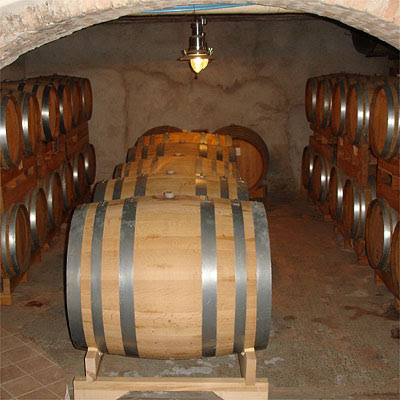 Small but good: Stra's cellar.