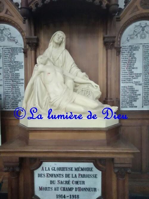 Annœullin, l'église du Sacré Cœur