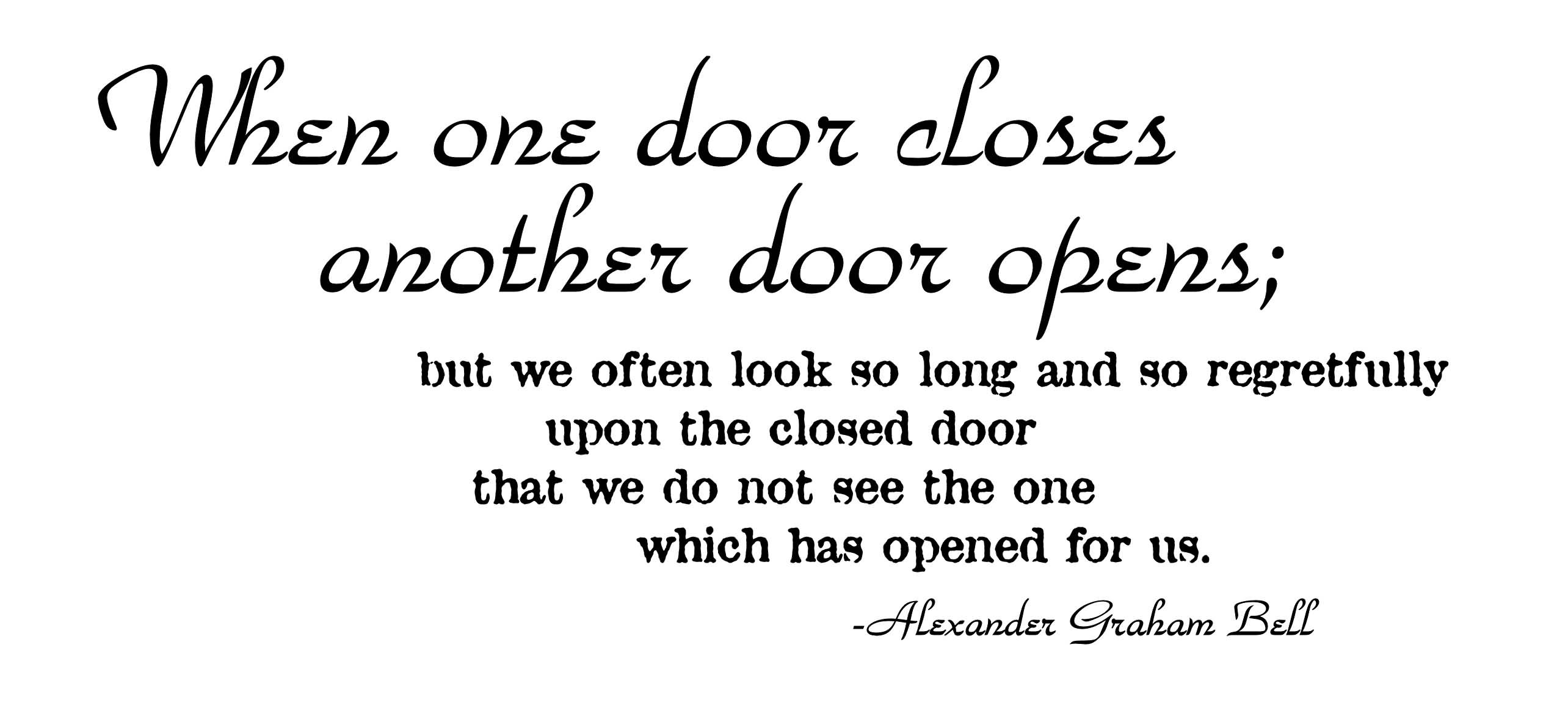 Quotes About Closing A Door 63 Quotes