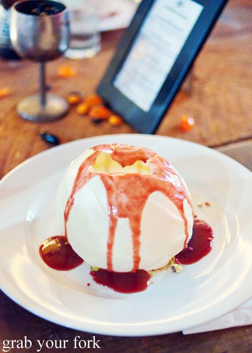 halloween dessert degustation at studio neon redfern