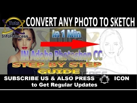 8 Simple Steps to Convert any Picture into Sketch in Adobe Photoshop CC