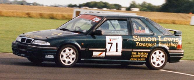 Simon Lewis, Rover 220, Castle Combe