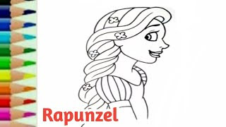 All Clip Of Belajar Menggambar Rapunzel Bhclipcom