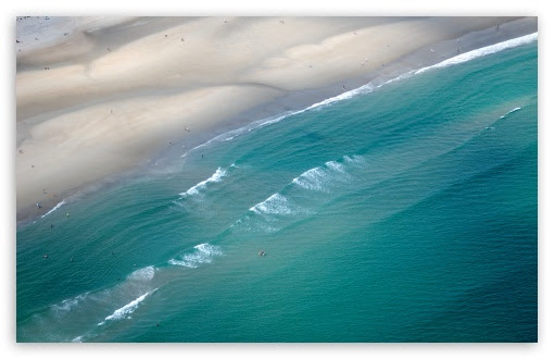 Ocean Waves 4K HD Desktop Wallpaper for 4K Ultra HD TV • Tablet • Smartphone • Mobile Devices