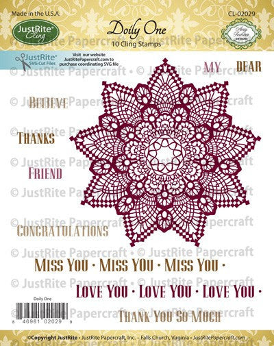 Doily One Cling Stamps