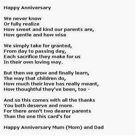 Mozjourney 50 Wedding Anniversary Poems Mom Dad