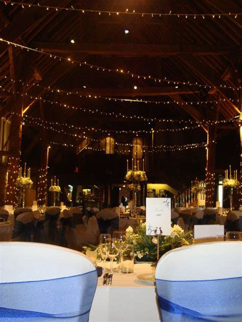 Tithe Barn   Wedding venue in Kent.   wedding decorations