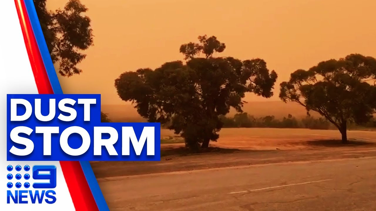 Twice love songs Massive dust storm smashes parts of Australia | 7NEWS - Dust storm Adelaide