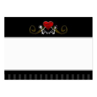 Wedding Seating Cards BLANK - Skeletons with Heart