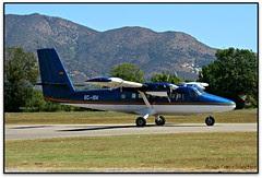 De Havilland Canada DHC-6 Twin Otter a Empúriabrava