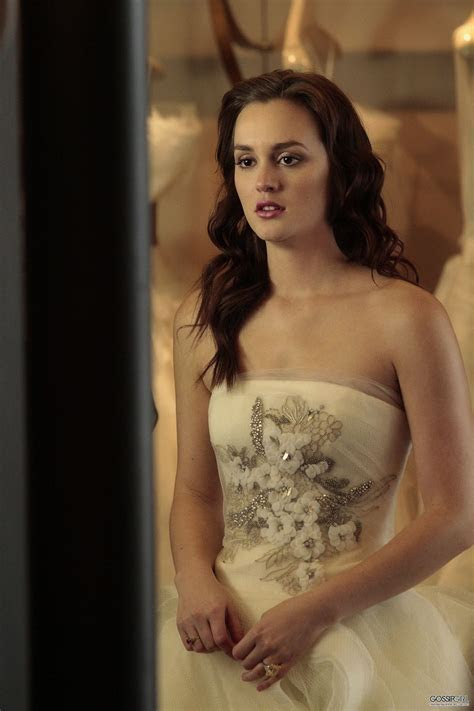 Blair Waldorf x Vera Wang   wedding dress fitting @ Gossip