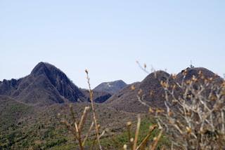 水沢山から見える榛名山方面
