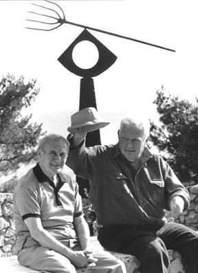 Alexander Calder and Juan Miro