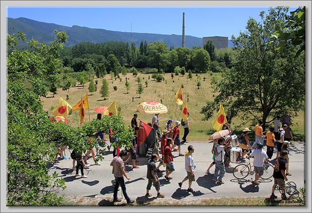 4 manifestación contra Garoña