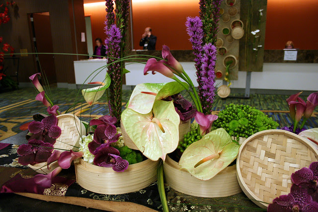 IMG_5791 Chinese steam basket flower arrangement