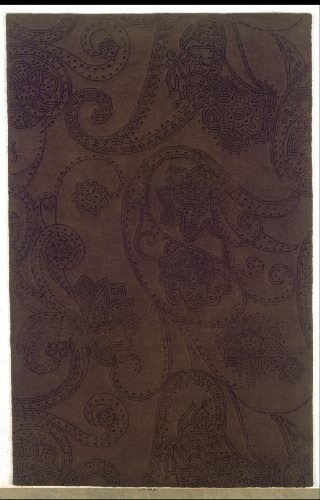 Discount area rugs hand tufted candice olson paisley for Candice olson area rugs