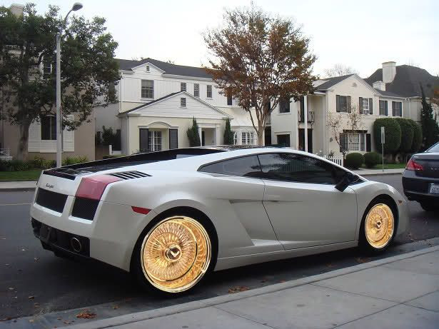 24 Gold Daytons Rims For Sale Custom Cars Pinterest For Sale Gold And Rims For Sale