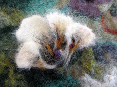 wet felting workshop ~ student work