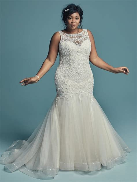 70 Stunning Plus Size Wedding Dresses for 2018 2019 Brides