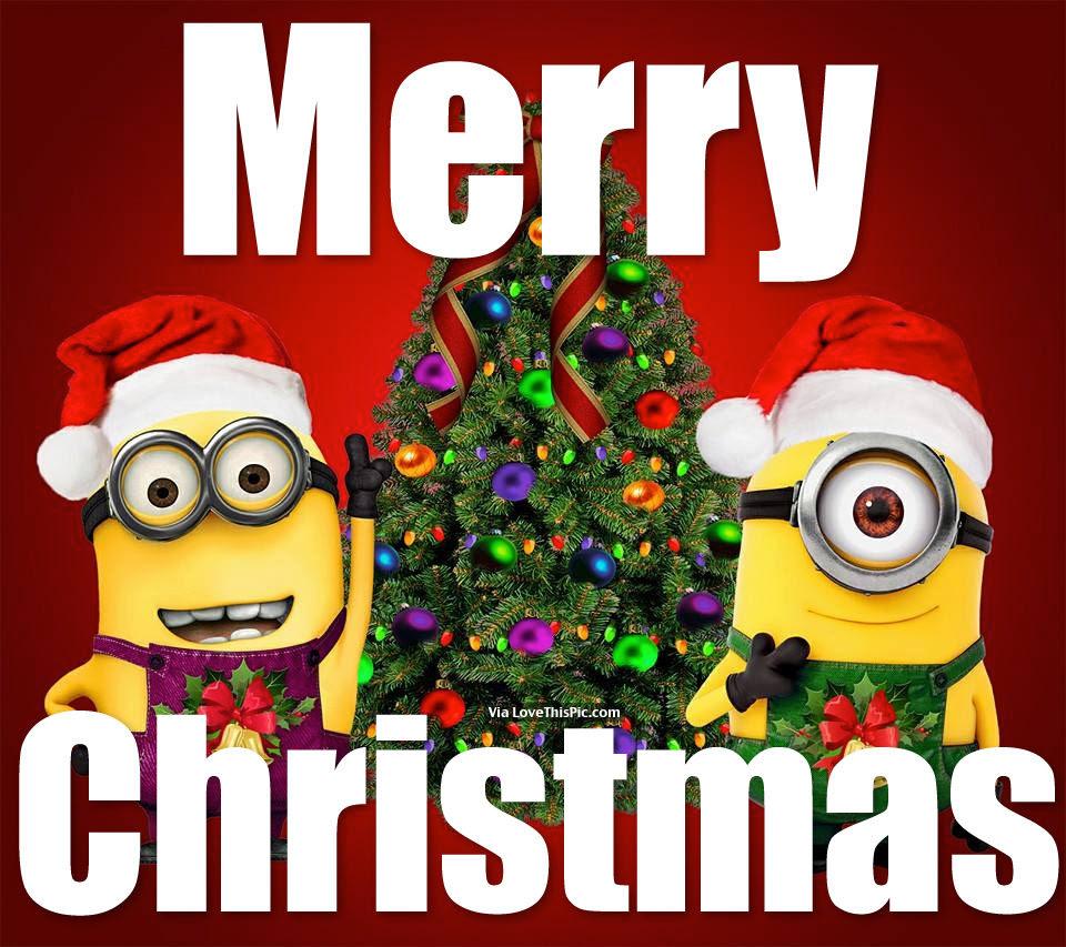 Resultado de imagen de merry christmas minions