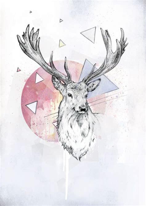 deer art art pinterest paintings tumblr deer skull