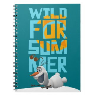 Olaf, Wild for Summer Note Book
