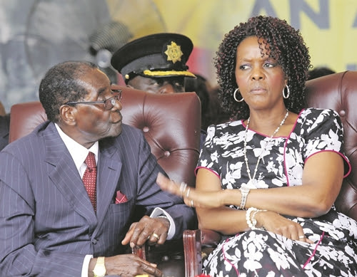 Zimbabwe Coup: President Mugabe's Wife 'Flees Zimbabwe for Namibia' After Military Take Over