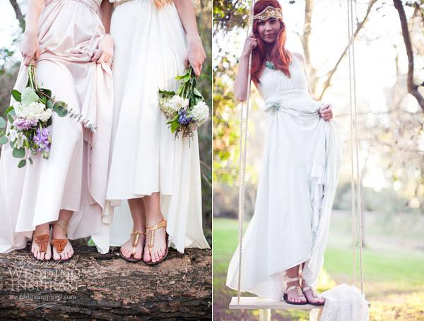 Wedding dresses: sandals wedding dresses