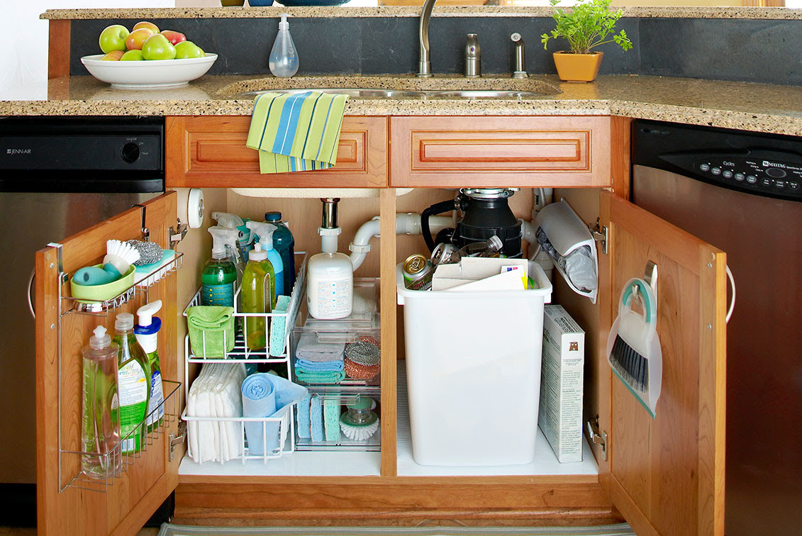 5 storage tips for under the sink in your bathroom or ...