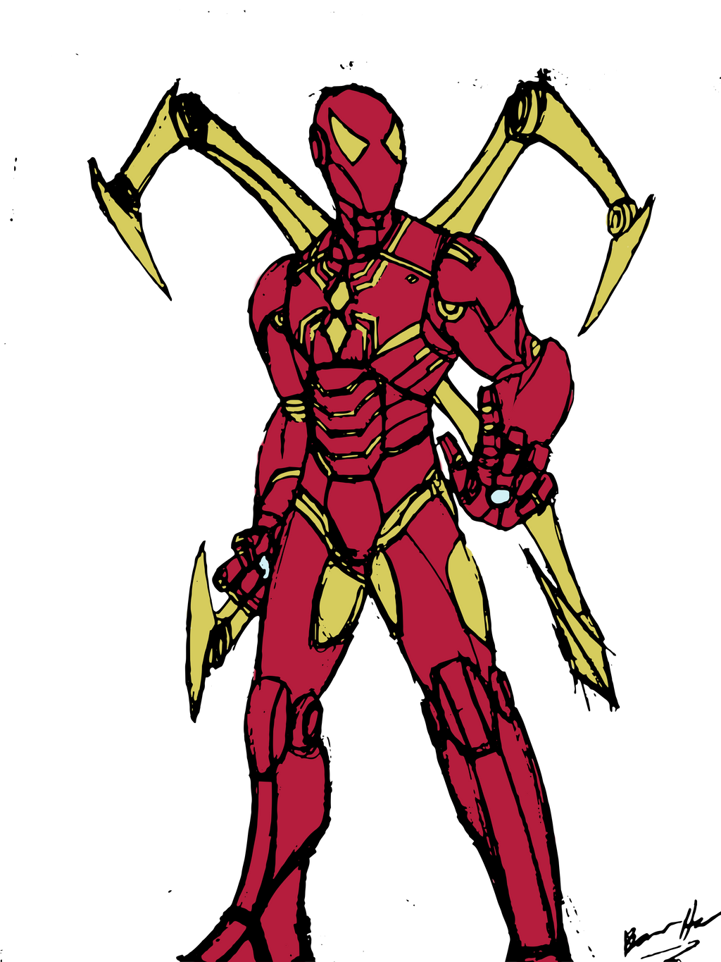 Iron Spider (Color Request) by edCOM02 on DeviantArt