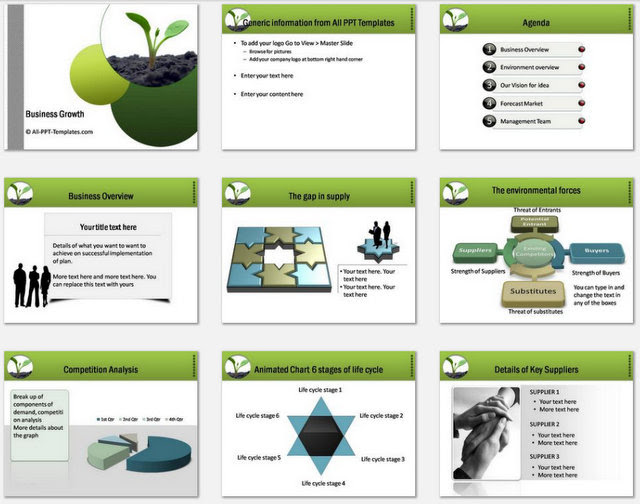 25 Ideas For Business Plan Powerpoint Template Free Download Summer Background